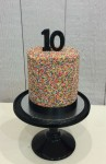 100's & 1000's Cake  6 inch Double Barrel