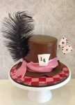 Alice In Wonderland Theme Cake