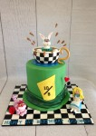 Alice in Wonderland Hat Cake