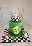 Alice in Wonderland Hat Cake