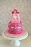 Barbie Bag Cake
