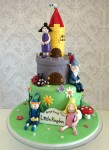 Ben & Holly's Little Kingdom Cake
