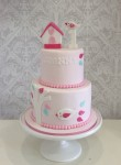 Bird House Cake 5inch on 7 inch
