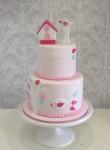 Bird House Cake 5inch on 7 inch
