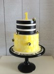 Bumble Bee Honeycombe Cake