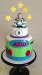 Buzz Lightyear Explosion Cake