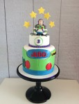 Buzz Lightyear Figurine Cake