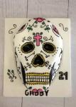 Candy Skull Cake