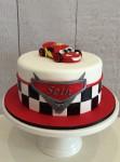 Cars Theme Cake  8 inch