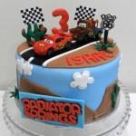 Cars Themed Cake