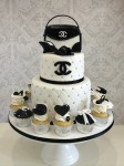 Chanel Bag & Shoe Cake