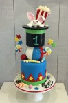 Circus Cake with Rabbit