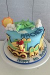 Dinosaur Train Cake 2