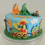 Dinosaur Train with 2D & 3D characters 8 inch