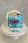Elsa Face Frozen Cake