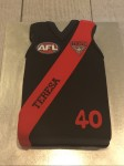 Essendon Football Jumber Cake