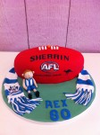 Sherrin Football with Figurine &Scarf Cake