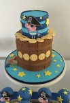 George Pig Pirate Cake