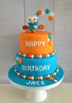 Hoot The Owl Two Tier Cake