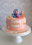Hootabelle Cake Peach  7 inch