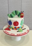 Hungry Caterpillar Cake 2