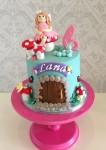 Garden Fairy & Toadstool Cake