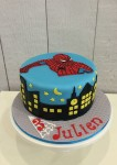 Spiderman Cake  8 inch