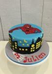 Spiderman Cake  8 inch