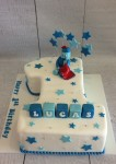 Iggle Piggle Number One Cake