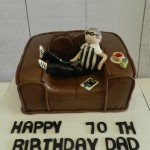 Lazing on the Couch Cake 8 inch