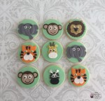 Jungle themed cookies