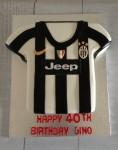 Juventus Soccer Jumper  11 inch Cake