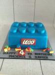 Lego Block Cake
