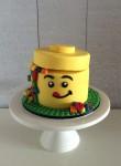 Lego Head Cake_2