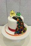 M&M Single Tear Cake