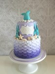 Mermaid Scale Cake
