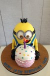 Minion with Cake