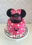 Minnie Mouse Head Cake