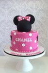 Minnie Mouse Cake Pink 7 inch