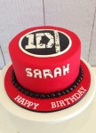 One Direction 7 inch Cake