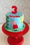 Peppa Pig 2D design 5 inch Cake