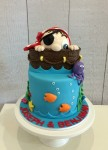 Pirate & Ship Cake
