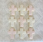 Quilted Cross Cookies