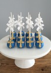 Navy & Gold Cake Pops