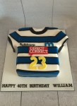 Rugby Jersy Cake