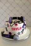 Singing Theme Cake  8 inch
