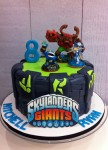 Skylanders Cake 8 inch with edible image