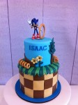Sonic The Hedgehog 4 inch on 6 inch
