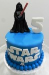 Star Wars Darth Vadar figurine Cake  5 inch