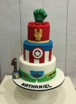 Superhero & Buzz Lightyear Cake